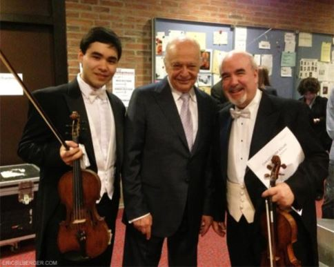 Silberger, Maazel and Dicterow