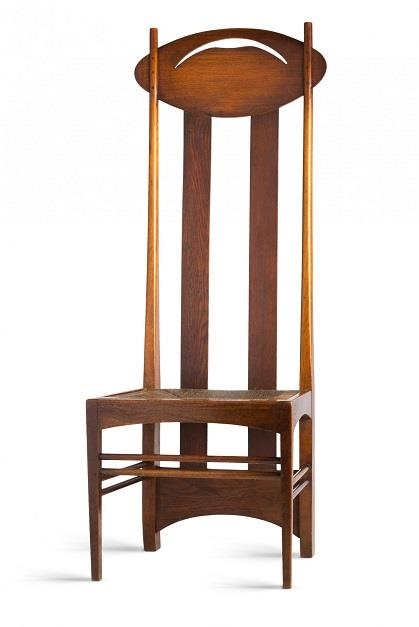 Charles Rennie Mackintosh, Silla Argyle (1897). © 2018 by Vitra Desing Museum.