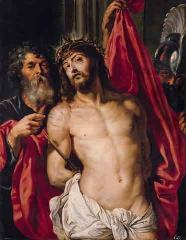 Peter Paul Rubens, Ecce homo (c. 1612). 125,7 cm × 96 cm. The State Hermitage Museum, Sankt Petersburg. © © The State Hermitage Museum, Sankt Petersburg 2017.
